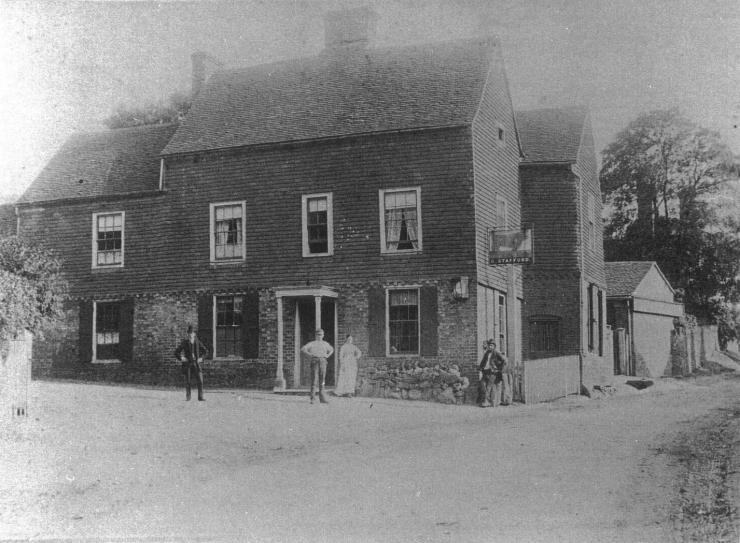 The Bull, c 1915, Limpsfield